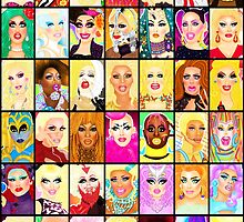 rupauls drag race posters redbubble