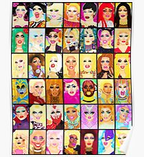 LIFE IS A DRAG Poster