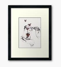 The Greatness of Man Framed Print