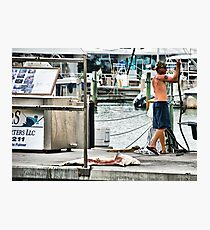 Catch of the Day Photographic Print
