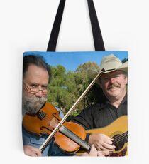 Geoff Bridgland - Paul Thompson (36 years & still playing together) Tote Bag