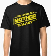 Star Wars - Coolest Mother in the Galaxy Classic T-Shirt