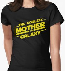 Star Wars - Coolest Mother in the Galaxy Womens Fitted T-Shirt
