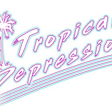 Tropical Depression by thedailyrobot