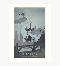 Bioshock Infinate Poster Art Print