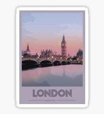 Travel to London Sticker