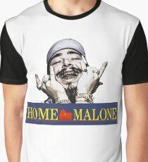 HOME MALONE Graphic T-Shirt
