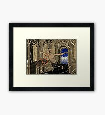Spiders Web Framed Print