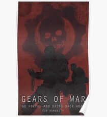 Gears Of War Game Poster Poster