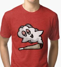 Happy Ghost Blunt Tri-blend T-Shirt