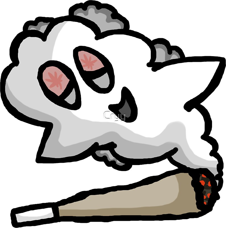 Happy ghost blunt by cryy