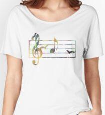 Ferrets Art - Musical note Women's Relaxed Fit T-Shirt