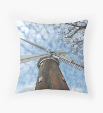 Sails & Branches Throw Pillow