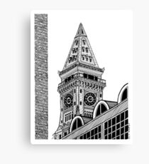 Custom House Tower - Boston Canvas Print