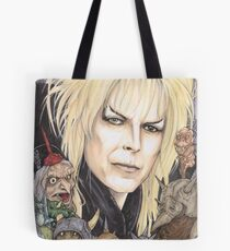 Labyrinth Jareth The Goblin King David Bowie  Tote Bag