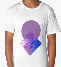 Minimalist Geometric Art Long T-Shirt