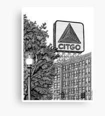 Kenmore Square - Citgo Sign - Boston Canvas Print