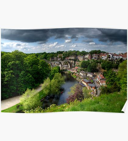 Eye Over Knaresborough Poster