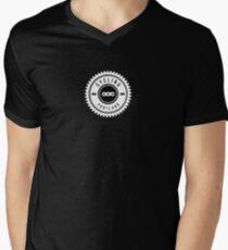Cycling Portland Chain Ring Men's V-Neck T-Shirt