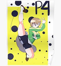 Persona 4 - Chie Print Poster