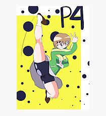 Persona 4 - Chie Print Photographic Print