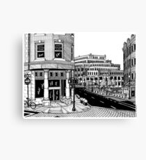 Harvard Square - Cambridge Canvas Print
