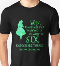 Alice in Wonderland - Impossible Things T-Shirt