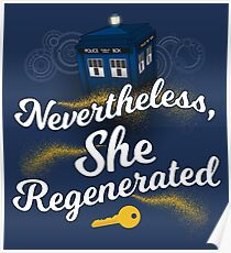 She Regenerated Poster