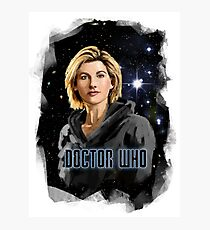 Doctor Who 13 Painting Photographic Print