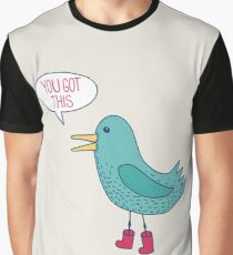 Emotional Support Duck Graphic T-Shirt