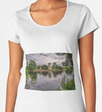 The River Thames At Bisham Women's Premium T-Shirt