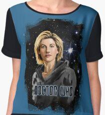 Doctor Who 13 Painting Women's Chiffon Top