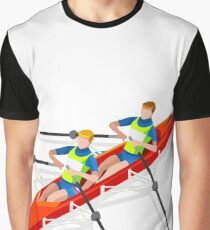 Canoe Rowing Athlete Sport Graphic T-Shirt