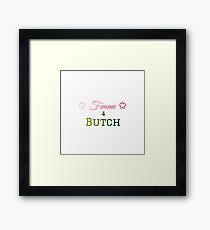 Femme4Butch Framed Print