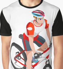 Mountain Biking Bike Biker Sport Graphic T-Shirt