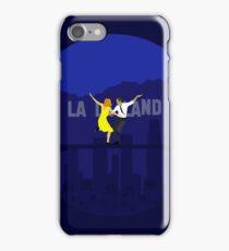 La La Land Minimalist Poster - Ryan Gosling Emma Stone iPhone Case/Skin