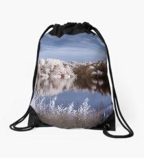 Rowley Lake Drawstring Bag