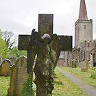 Angel Memorial by lezvee