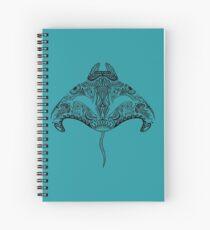 Tribal Manta Ray Spiral Notebook
