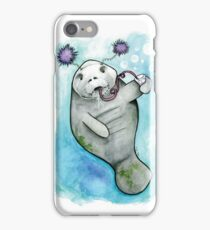 Party Manatee iPhone Case/Skin