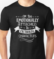 fictional characters Funny saying Typography Graphic vector vintage Unisex T-Shirt