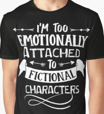 fictional characters Funny saying Typography Graphic vector vintage Graphic T-Shirt
