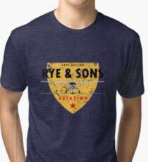 Rye & Sons (faded) Tri-blend T-Shirt