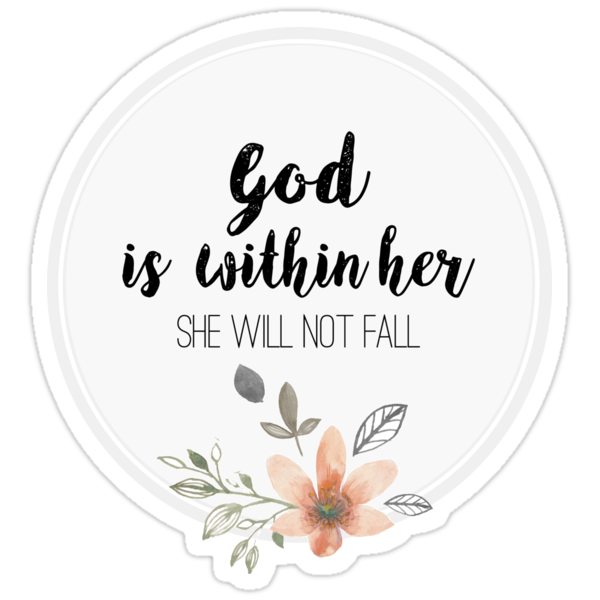 Quot God Is Within Her She Will Not Fall Psalm 46 5