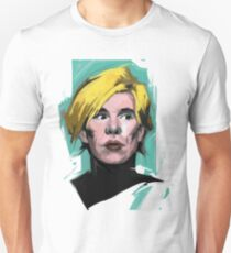 Andy Warhol american and world artist  Unisex T-Shirt