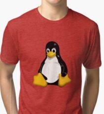 linux penguin cute Tri-blend T-Shirt