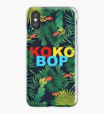EXO KO KO BOP THE WAR DESIGN TROPICAL iPhone Case/Skin