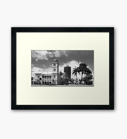 Old Townsville Post Office, Flinders Mall, East. Townwsville Framed Print