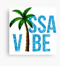 ISSA VIBE Canvas Print