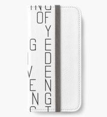 mister brightside iPhone Wallet/Case/Skin